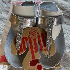 Fitflop Fino Glitzy Silver